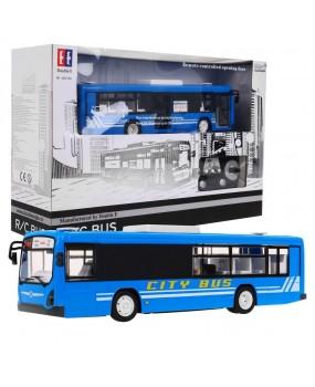 Autobus na diaľkové ovládanie R / C 2,4 G 1:20 modrý